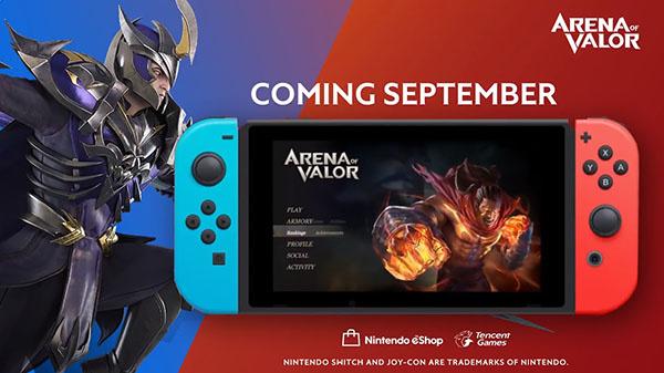 Arena of Valor : le MOBA de Tencent précise sa sortie sur Nintendo Switch