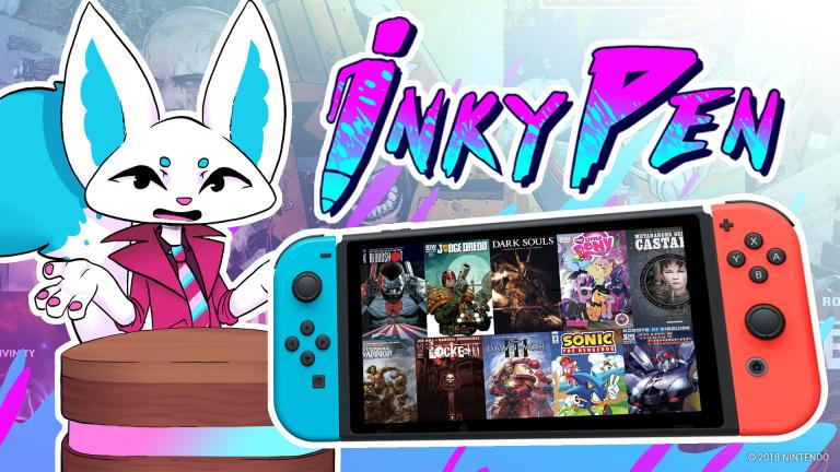 gamescom 2018 : InkyPen, une application pour les amateurs de BD sur Switch
