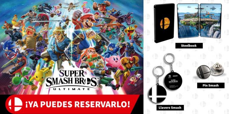 Super Smash Bros. Ultimate : voici les bonus de précommande en Espagne