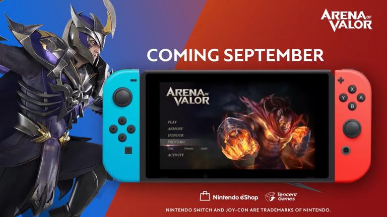 Arena of Valor : l'abonnement au Nintendo Switch Online ne sera pas requis