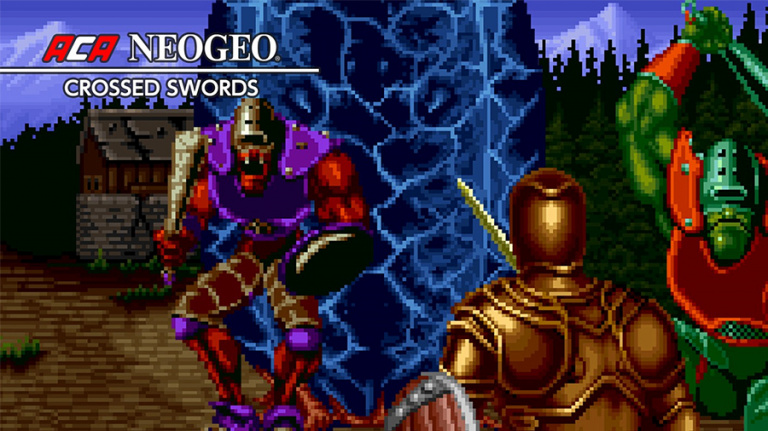 Arcade Archives s'attaque à Crossed Swords sur PS4, Xbox One et Switch