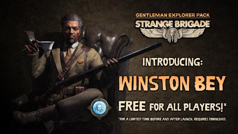 Strange Brigade : un personnage supplémentaire au lancement