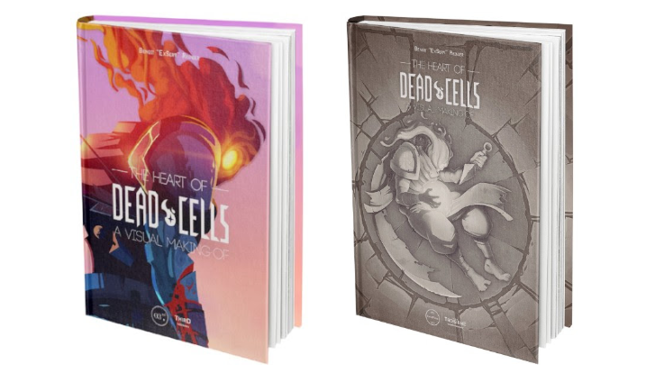 The Heart of Dead Cells : Un ouvrage mi-artbook, mi-making-of chez Third Editions
