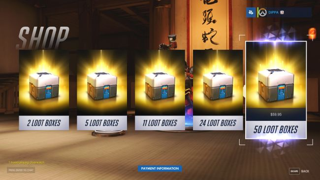 Blizzard retire les loot boxes payantes d'Overwatch et Heroes of the Storm en Belgique