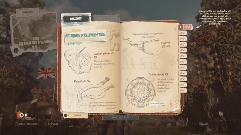 Reliques et amulettes de pouvoir