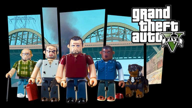 Grand Theft Auto : Des sets Kubrick à venir en septembre