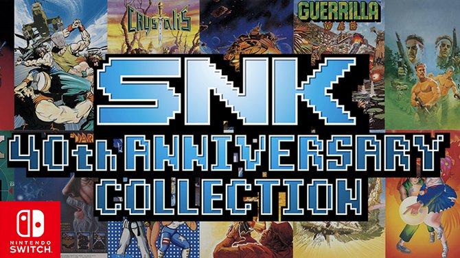 SNK 40th Anniversary Collection : dix jeux seront ajoutés après le lancement