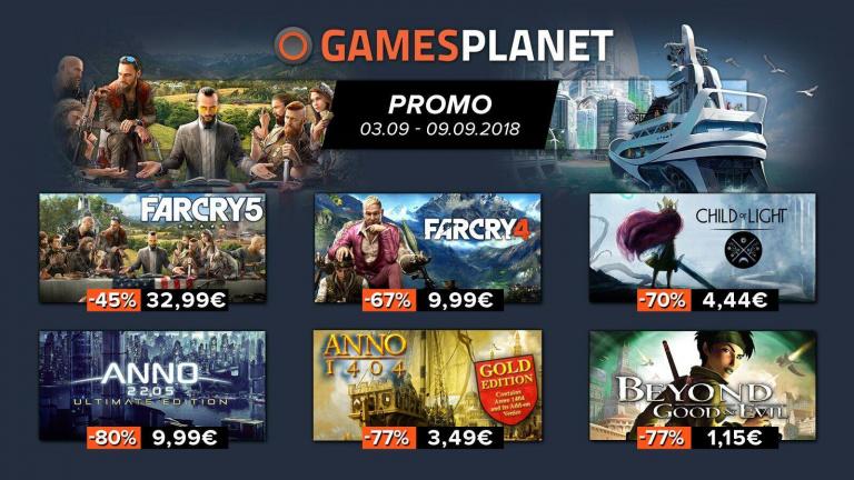 Pour fêter la rentrée, Gamesplanet vous a préparé de nouvelles promotions