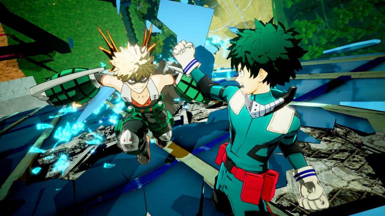 My Hero : One's Justice dévoile un nouveau style de combat