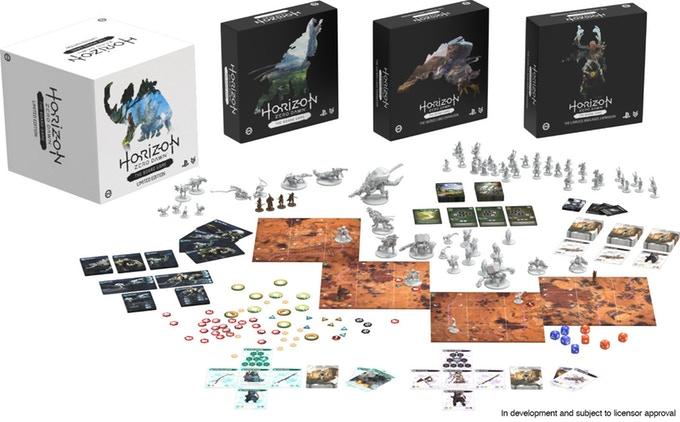 Horizon Zero Dawn : Le jeu de plateau fait un carton sur Kickstarter