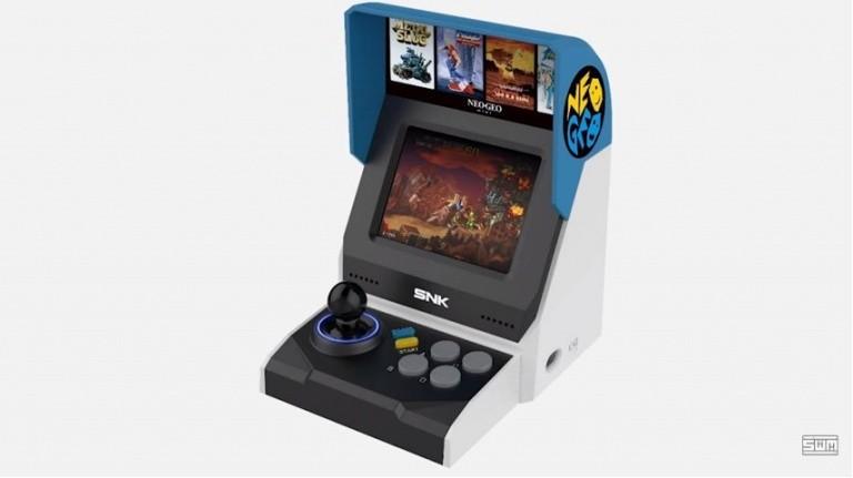 La Neo Geo Mini International sera disponible le 10 octobre