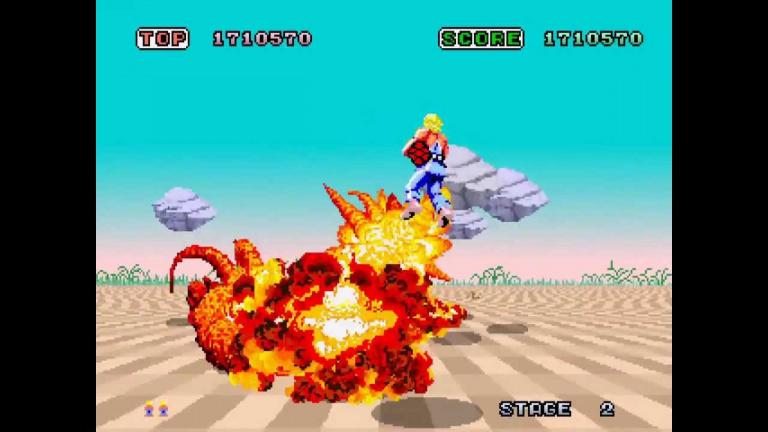 Sega Ages : Space Harrier reviendra sur la Switch