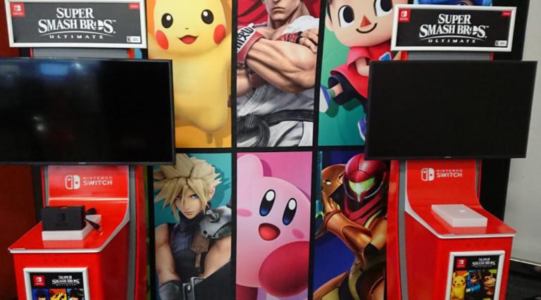 Super Smash Bros. Ultimate :  la démo du jeu fait déjà un carton à New York !