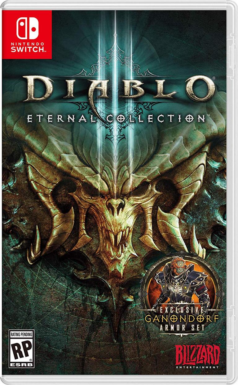 Diablo III Eternal Collection présente sa jaquette Switch