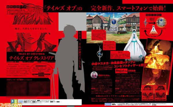 Tales of Crestoria : un nouveau Gacha en approche au Japon