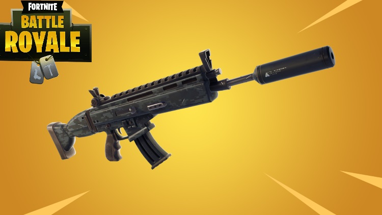 Guide Fortnite, nouvelle arme : Fusil d'assaut avec silencieux. Stats et stratégies