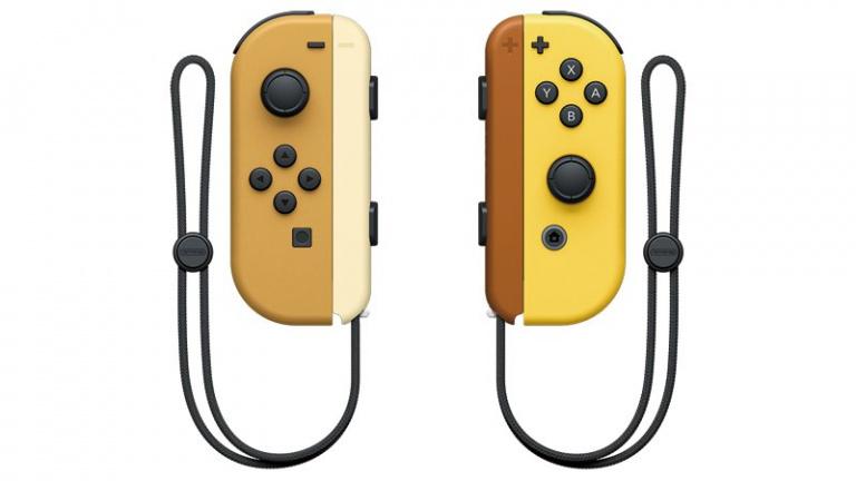 Pokémon Let's Go! : les Joy-Cons et le Dock de la console collector sont vendus séparément.