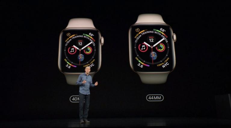 Keynote Apple 2018 : Tim Cook présente la nouvelle Apple Watch