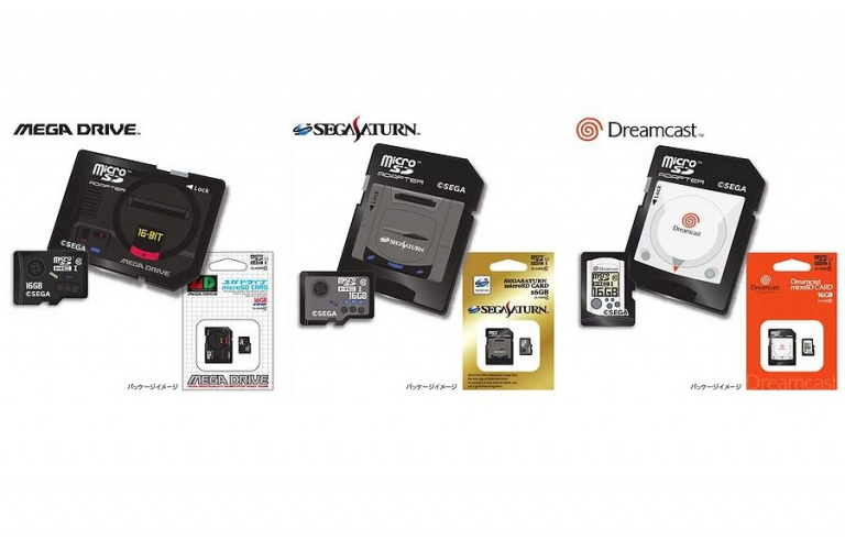SEGA : les consoles mythiques reviennent sous forme de cartes SD