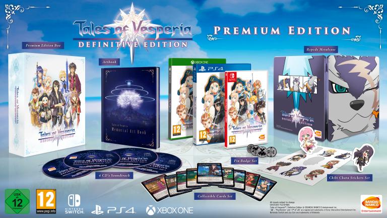 Tales of Vesperia : Definitive Edition aura sa Premium Edition en Europe