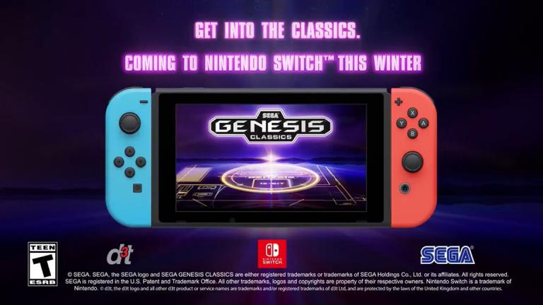 Sega Mega Drive Classics : la compilation arrive sur Nintendo Switch cet hiver