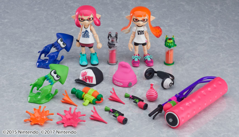 Splatoon 2 : les figurines Figma Splatoon girl DX Edition sont disponibles en précommande !
