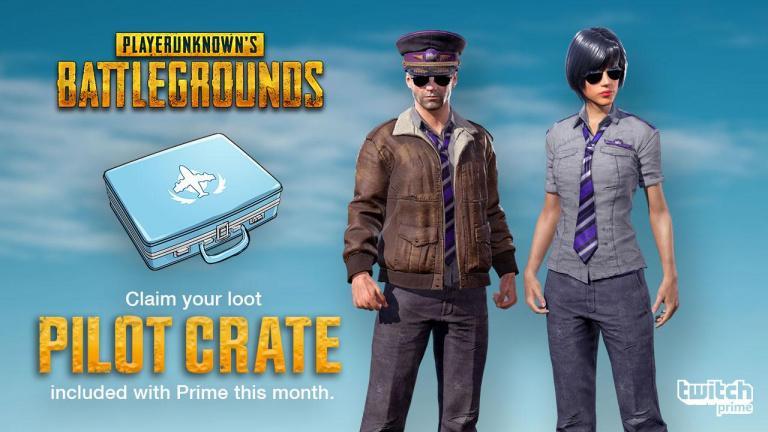 Guide PUBG : comment obtenir la tenue de pilote collector pour les abonnés Twitch Prime