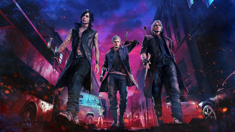 Devil May Cry 5 : Dante fait le show - TGS 2018