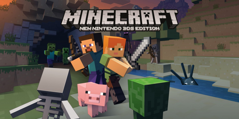 La New 2DS XL Creeper Edition accompagne la sortie de Minecraft 3DS en Europe