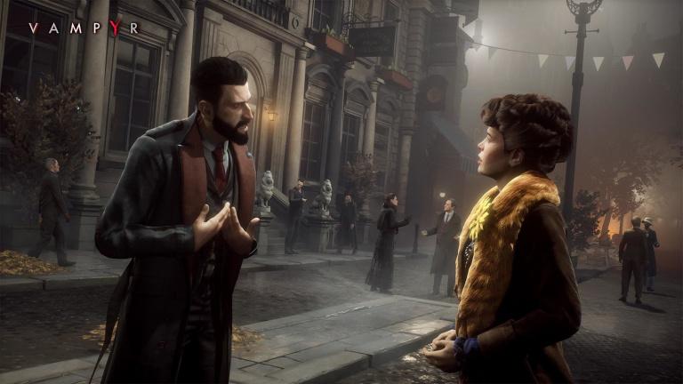 Vampyr : deux nouveaux niveaux de difficulté arrivent le 26 septembre