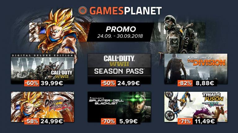Gamesplanet : Promotion sur les FPS, jeux de combat, stratégie et jeux de course sur PC