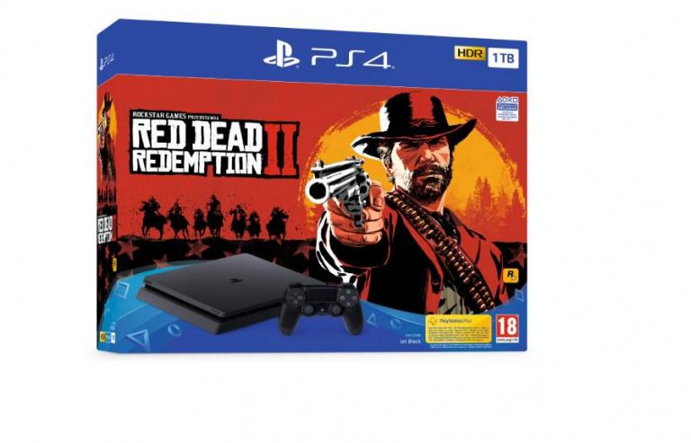 Red Dead Redemption 2 : des packs PS4 / PS4 Pro accompagneront la sortie du jeu