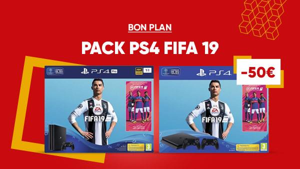Packs consoles Fifa 19 et promotion de lancement pour Life is Strange 2
