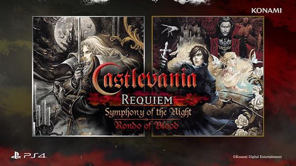 Castlevania Requiem : Symphony of the Night & Rondo of Blood annoncé officiellement