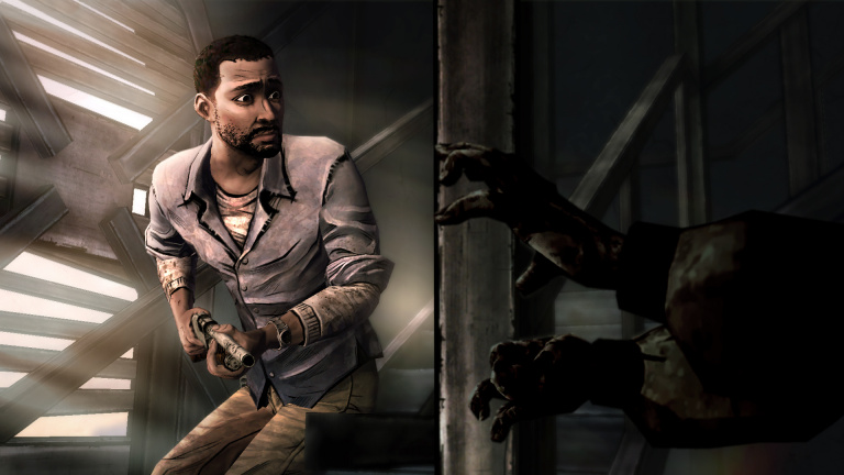 Telltale's The Walking Dead : une scène coupée qui a du punch