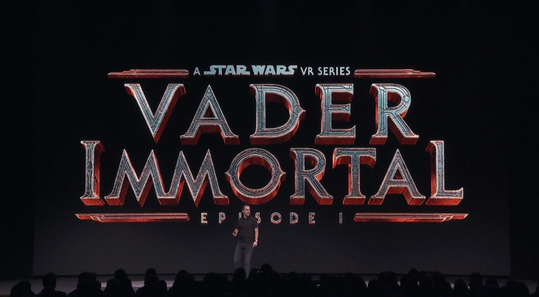 Vader Immortal : A Star Wars VR Series annoncé par Oculus