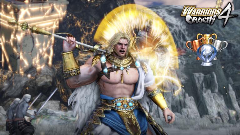 Warriors Orochi 4 : les trophées / succès du crossover Dynasty Warriors / Samurai Warriors