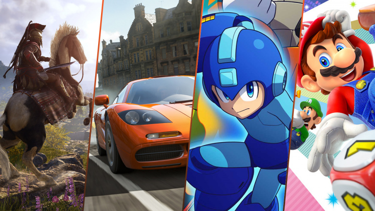 les sorties de la semaine forza horizon 4 mega man 11 assassin 39 s creed odyssey. Black Bedroom Furniture Sets. Home Design Ideas