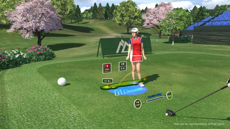 Everybody's Golf VR annoncé par Sony