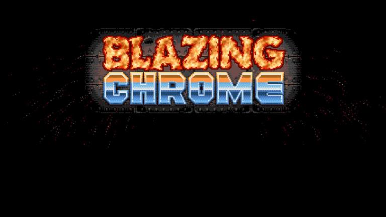 Blazing Chrome sortira en début d'année prochaine