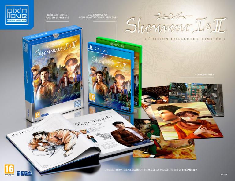 Shenmue 1 & 2 : La collector dévoilée par Pix'n Love
