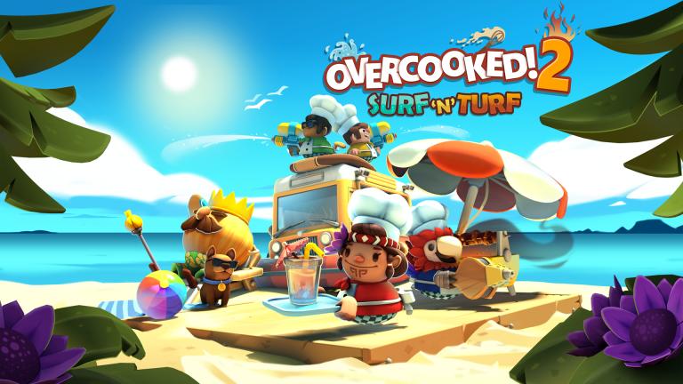 Overcooked 2 : douze niveaux supplémentaires au menu du DLC Surf 'n' Turf