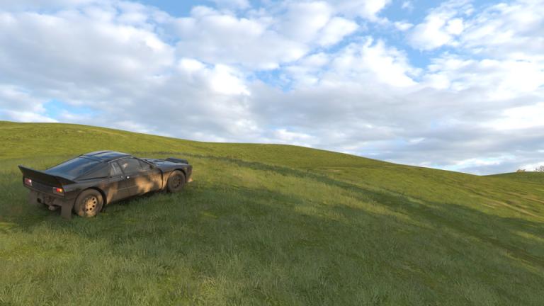 """Un hommage au célèbre fond d'écran """"Bliss"""" de Windows XP dans Forza Horizon 4"""
