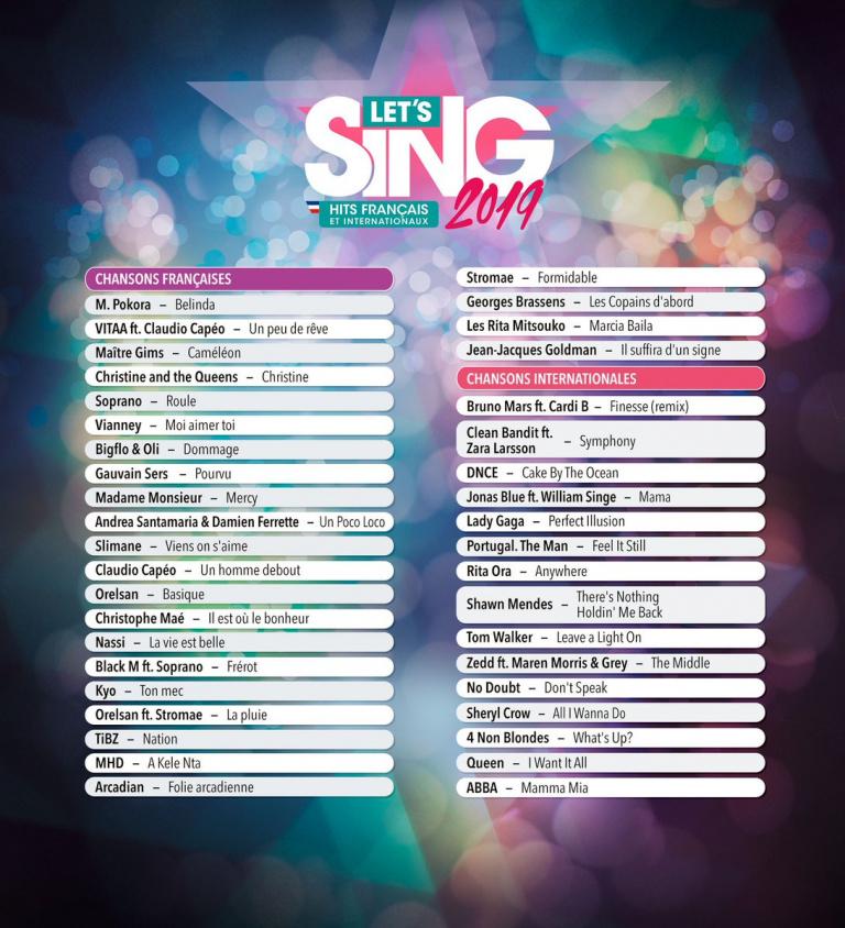 Let's Sing 2019 : Sortie prévue à la fin du mois