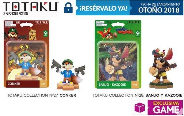 Rare : les figurines Totaku de Conker et Banjo & Kazooie arrivent !