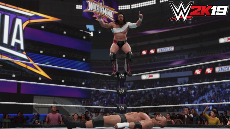 WWE 2K19 : les trophées / succès du jeu de catch de 2K