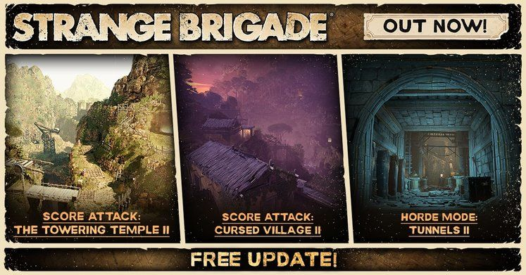 Strange Brigade : le DLC Isle of the Dead sort de sa tombe