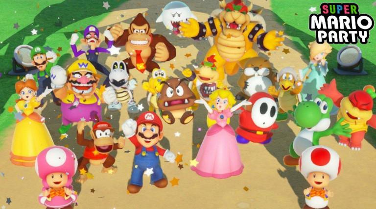 Super Mario Party : les meilleurs personnages
