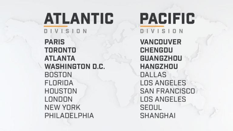 Overwatch League : présentation et détails de la saison 2019