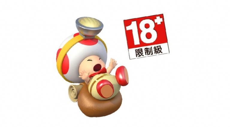 Captain Toad Treasure Tracker : le jeu est classé 18+ sur un site taïwanais